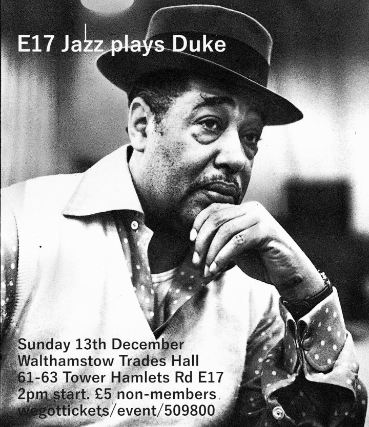 Duke Ellington flyer